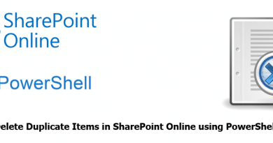 Find and Delete Duplicate Items in SharePoint Online using PowerShell 390x205
