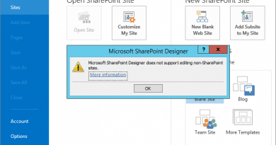 Microsoft sharepoint designer does not support editing non sharepoint sites 390x205
