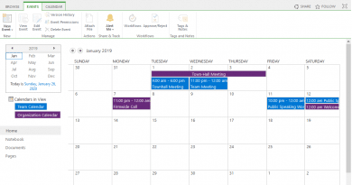 PowerShell to Add calendar event in sharepoint online 390x205