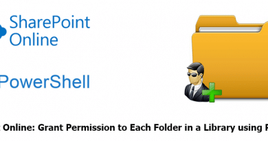 PowerShell to Grant Permission to Each Folder in a SharePoint Online Document Library 390x205