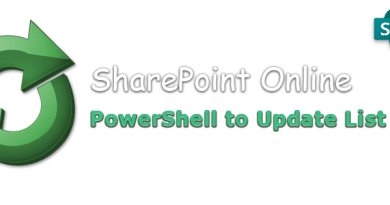 PowerShell to Update SharePoint Online List View 390x205