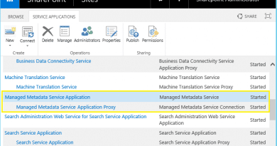 Powershell to create managed metadata service application in sharepoint 2013 390x205