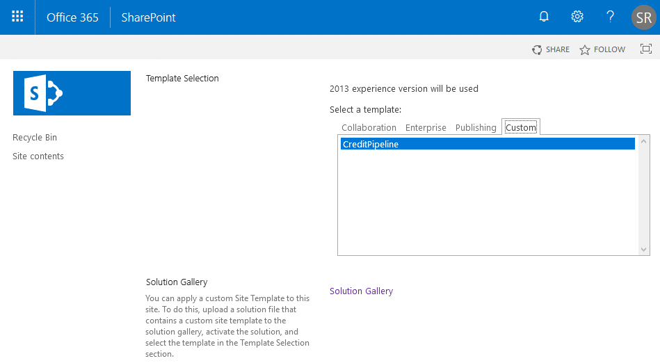 SharePoint Online Create Site Collection from Custom Template using PowerShell