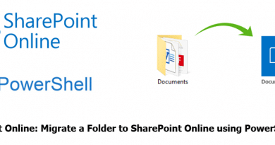 SharePoint Online Migrate a Folder to SharePoint Online using PowerShell 390x205