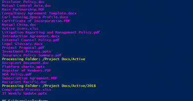 SharePoint Online loop through all files in a Document Library using powershell 390x205