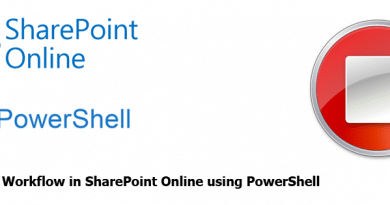 Terminate Workflow in SharePoint Online using PowerShell 390x205