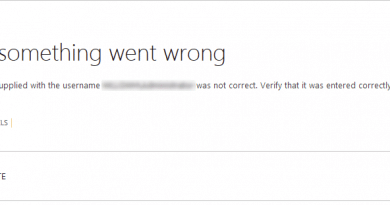 The password supplied with the username was not correct 390x205