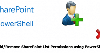add or remove sharepoint list permissions using powershell 390x205