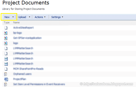 """Hide """"New"""" button from SharePoint 2007 List Toolbar"""