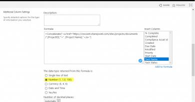 convert calculated column to hyperlink in sharepoint online 390x205