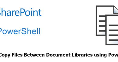 copy files between document libraries using powershell 390x205