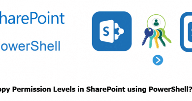 copy permission level in sharepoint using powershell 390x205