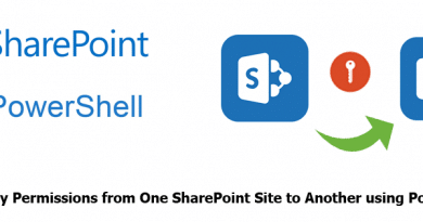 copy permissions from one sharepoint site to another using powershell 390x205