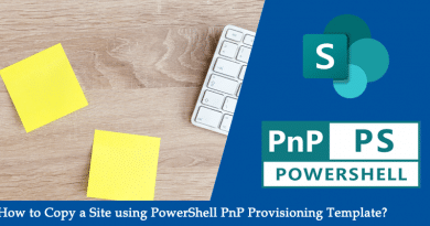 copy sharepoint online site using pnp provioning template powershell 390x205