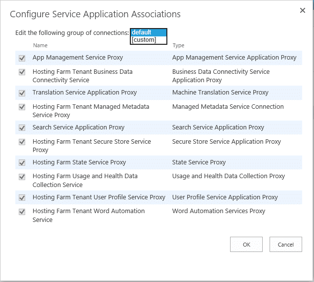 create proxy group in sharepoint 2016 powershell