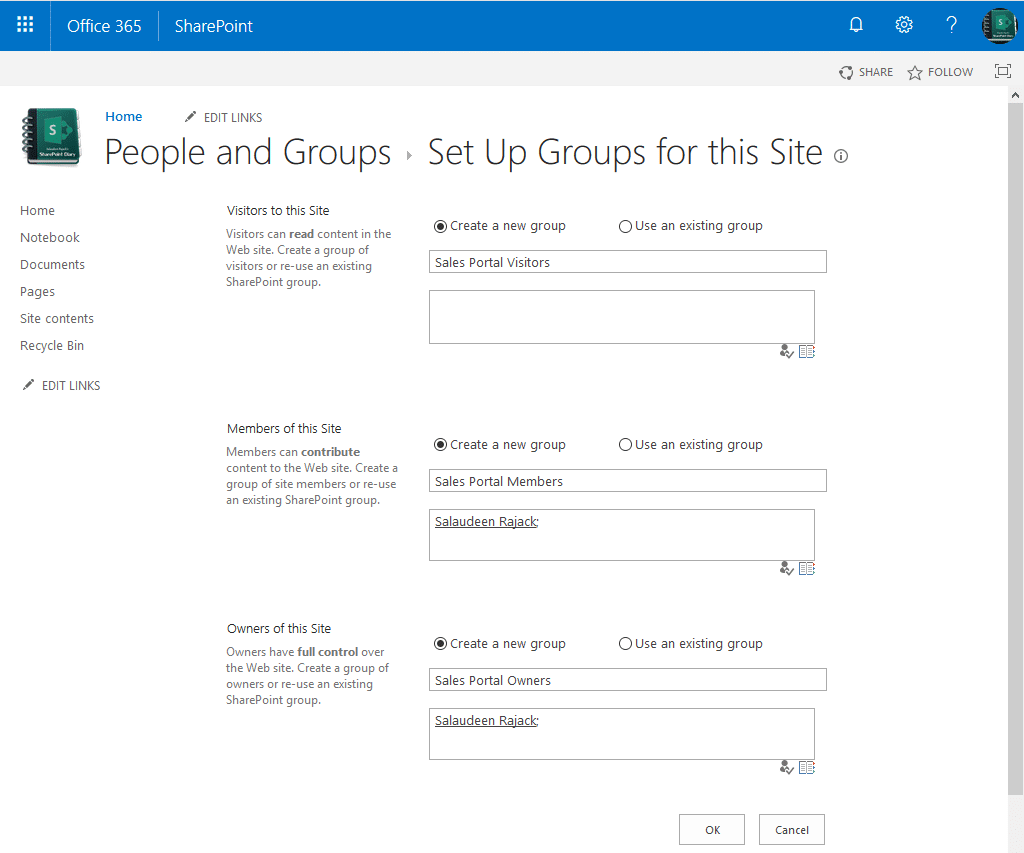 Create Subsite with Unique permissions in SharePoint Online using PowerShell