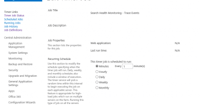 enable search health monitoring trace events timer job 390x205