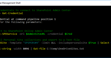 get all onedrive site collections using powershell 390x205