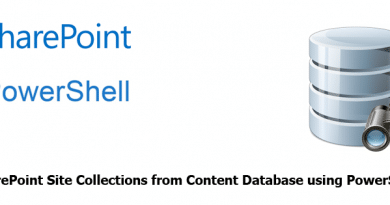 get sharepoint site collection from content database using powershell 390x205