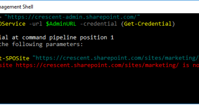 get sposite the site https tenant sharepoint com is not properly formed 390x205