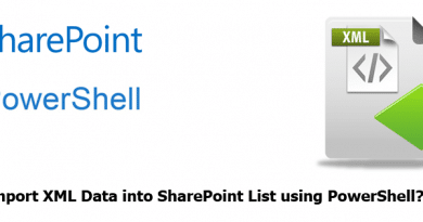 how to Import xml data into sharepoint list using powershell 390x205
