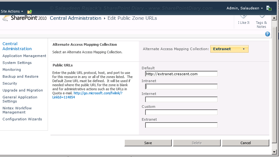 how to rename sharepoint 2013 web application