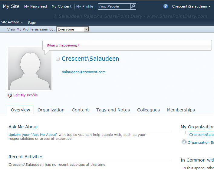 import user pictures from active directory to sharepoint 2010