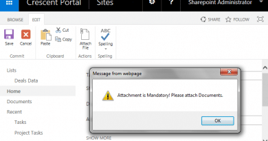 make attachment mandatory in sharepoint list forms 390x205