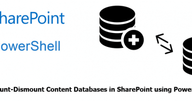 mount dismount content databases in sharepoint using powershell 390x205