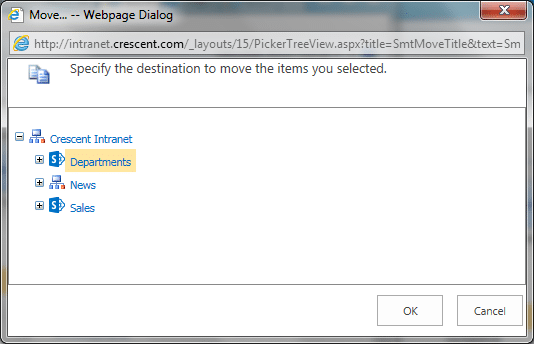 move a sharepoint subsite from one site to another