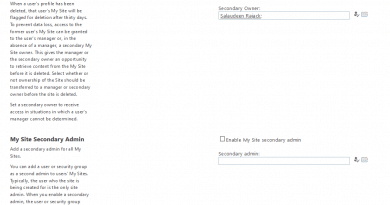 my site cleanup access delegation secondary owner 390x205