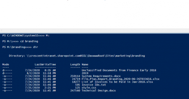 navigate site file system using sharepoint online powershell 390x205