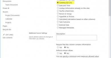 powershell to add currency column to sharepoint online list 390x205