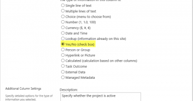 powershell to add yes no check box column to sharepoint online 390x205