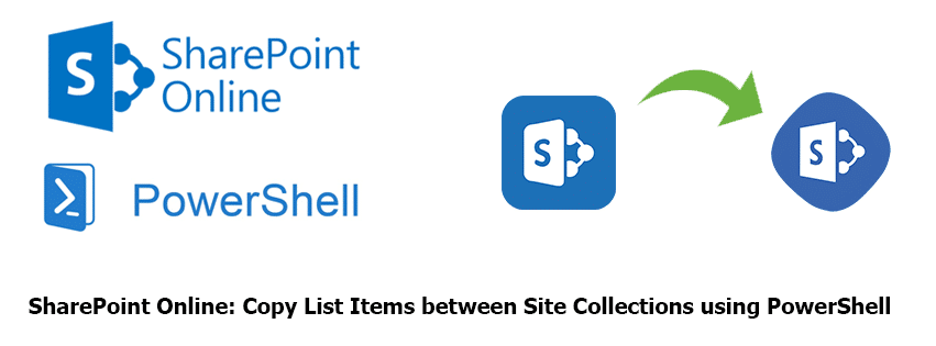 powershell to copy list Items between site collections in sharepoint online