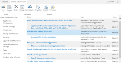 powershell to create bcs service application in sharepoint 2016 390x205