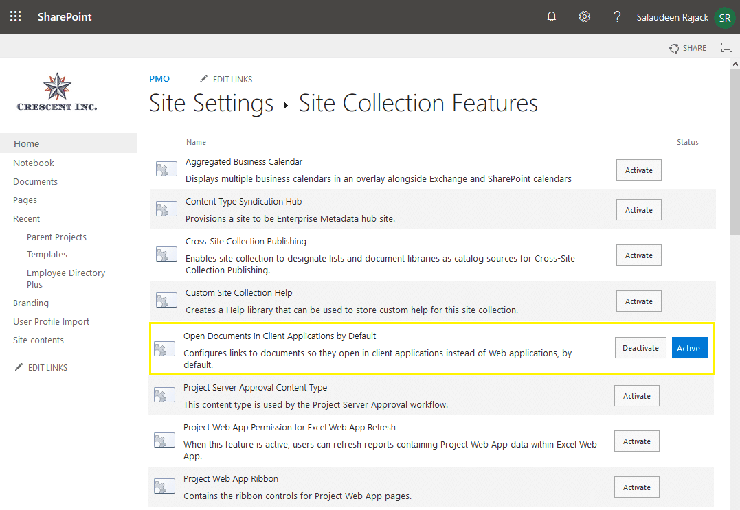 sharepoint online deactivate feature on all sites using powershell
