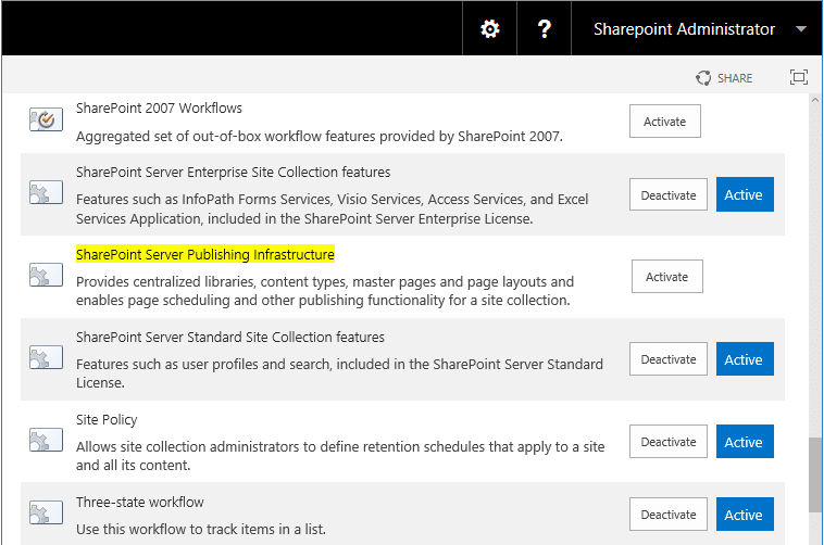 powershell to disable publishing feature in sharepoint online