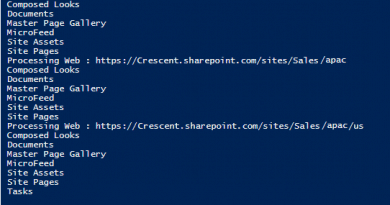 powershell to get all lists in sharepoint online 390x205