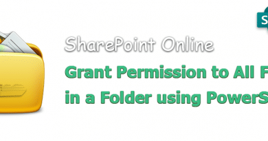 powershell to grant permission to all files in a folder in sharepoint online 390x205