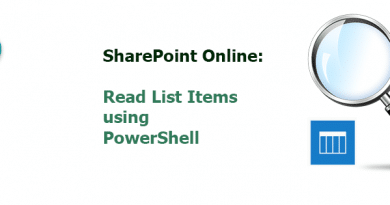 read list items in sharepoint online using powershell 390x205