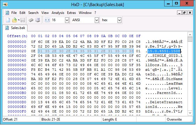 SharePoint Restore-SPSite Error:0x80070003