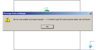 server was unable to process request content type for multi outcome tasks was not found 390x205