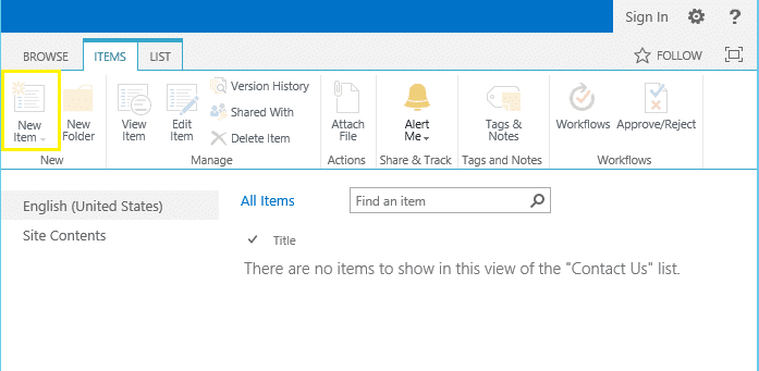 sharepoint 2013 anonymous access add items greyed out