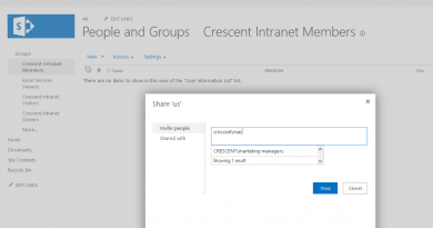 sharepoint 2016 add active directory group to sharepoint group 390x205