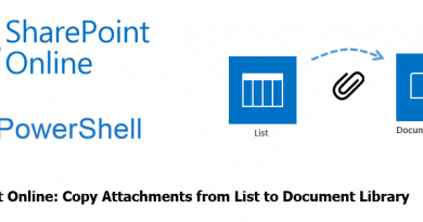 sharepoint copy attachment from list to document library 390x205