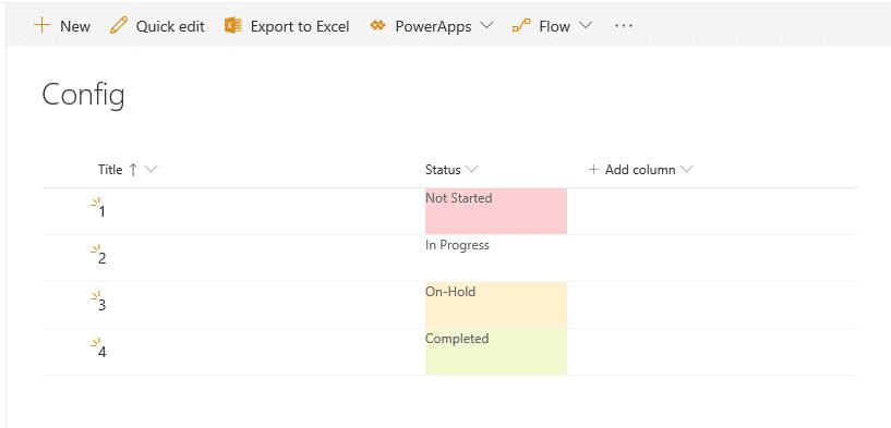 sharepoint online apply column format using powershell