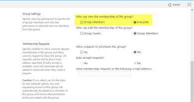 sharepoint online change group settings using powershell 390x205