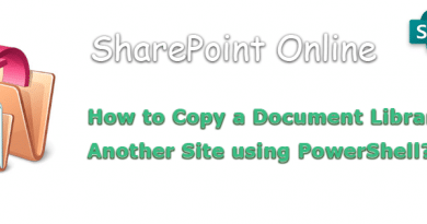 sharepoint online copy document library to another site collection 390x205