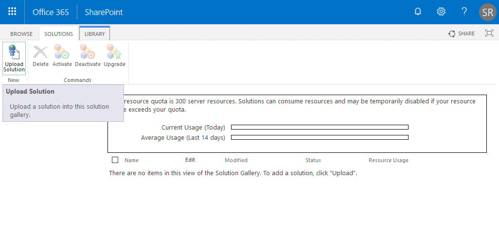 sharepoint online create site collection custom template